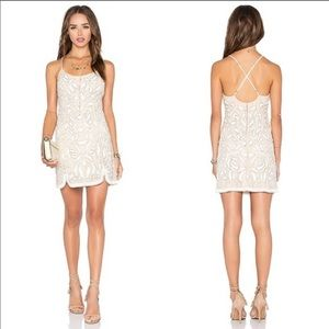 X by NBD Madeline Beaded Dress